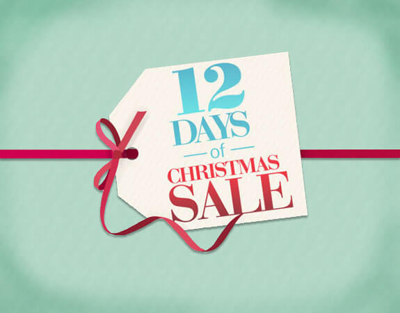 12 Days of Christmas Sale Dec 1 - 12