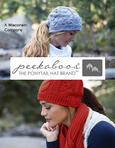 Peekaboo Ponytail Hats