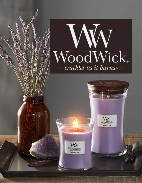 WoodWick Candles and Diffusers
