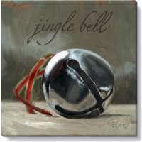Jingle Bell Print - 5 x 5 in.