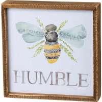 Bee Humble Sign