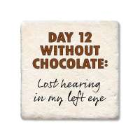 Day 12 Without Chocolate Coaster