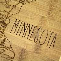 A Slice Of Life Minnesota Cutting Board