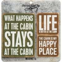 Cabin Magnet Set
