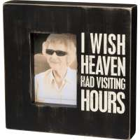 Visiting Hours Box Frame