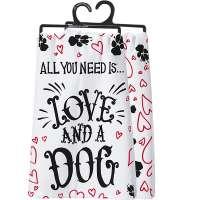 And A Dog Dish Towel