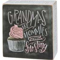 Grandmas Chalk Art Sign