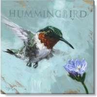 Hummingbird Print - 5 x 5 in.