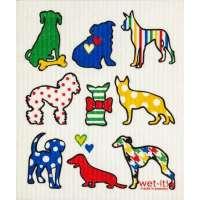 Dog Lover Swedish Dish Cloth