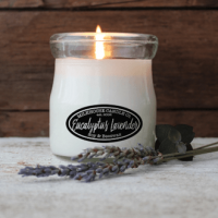 Eucalyptus Lavender Soy Candle by Milkhouse