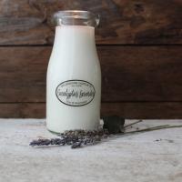 Eucalyptus Lavender Milkbottle Soy Candle