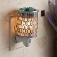 Filigree Metal Plug-in Wax Warmer