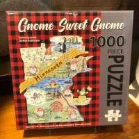 Gnome Sweet Gnome Minnesota Puzzle