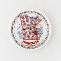 "Minnesota ""Paper"" Plate"
