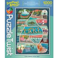 Life Is Better At The Lake Puzzle