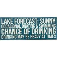 Lake Forecast... Box Sign