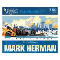 Minneapolis Skyline Signature Series Puzzle