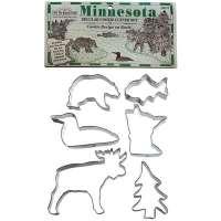 Minnesota 6 Pc Cookie Cutter Set