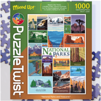 National Parks & Treasures Puzzle