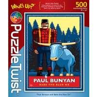 Paul Bunyan & Babe Surprise Puzzle