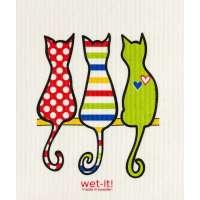 Cat Lover Swedish Dish Cloth