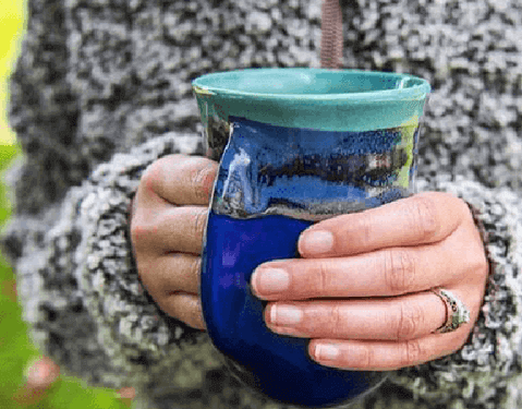 Handwarmer Mugs by Clay in Motion