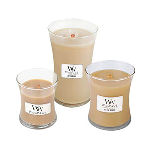 At The Beach Scented WoodWick Candle