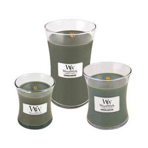 Evening Bonfire Scented WoodWick Candle