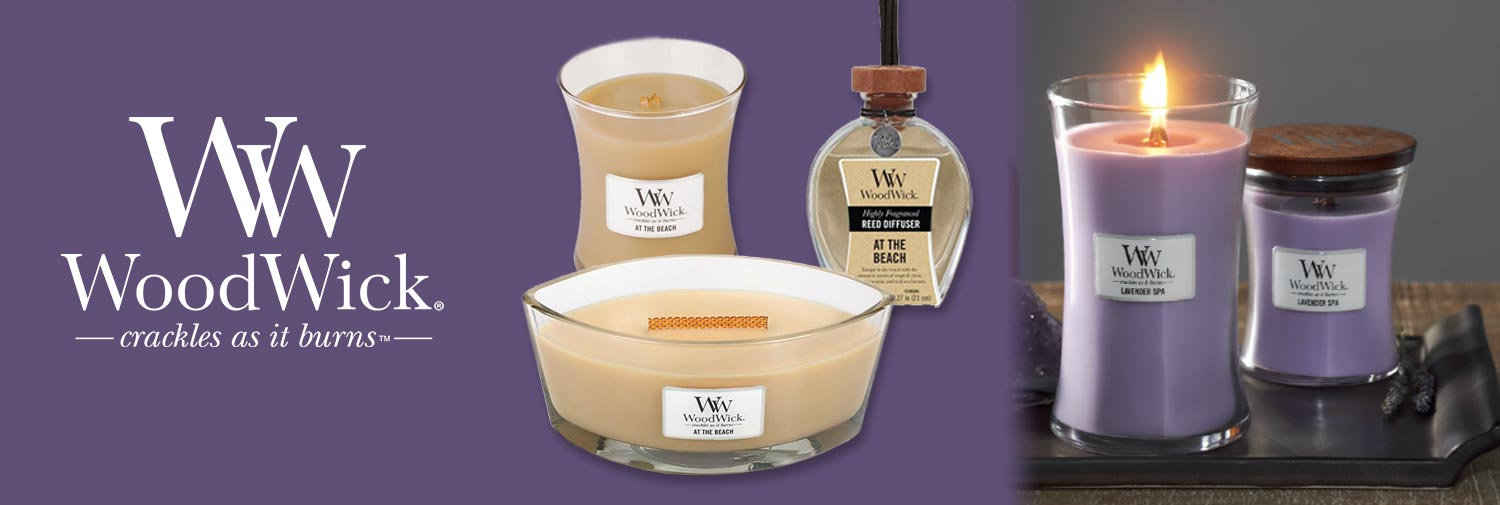 WoodWick Candles Fragrances of the Month