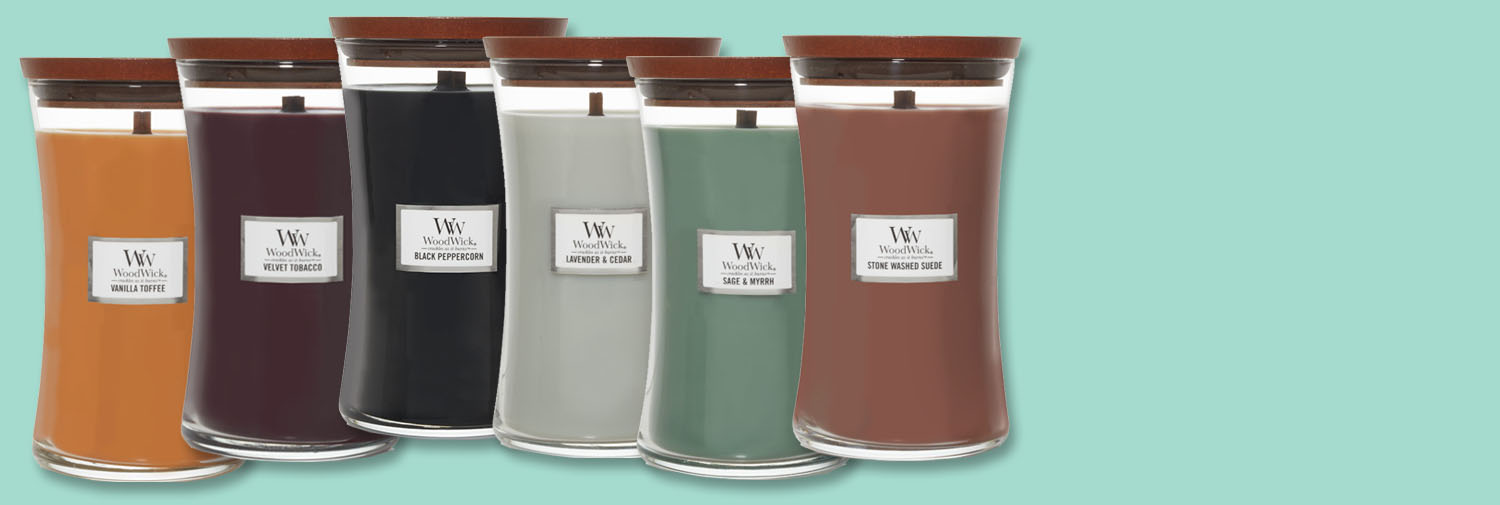 New WoodWick Candles & Diffusers for Fall