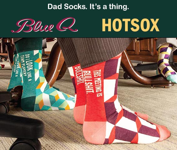 Dad Socks. It's a thing.