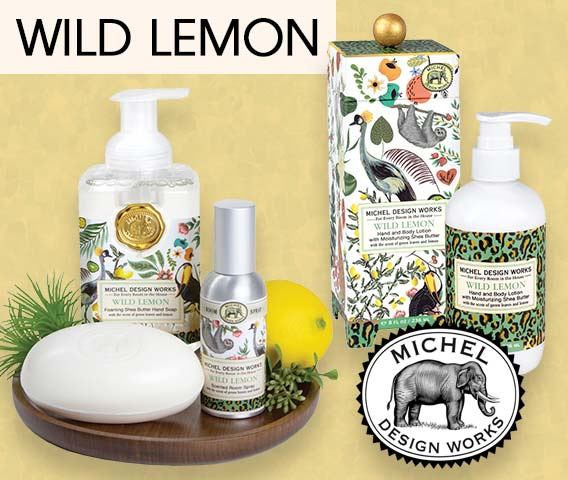 Sample the new scents from Michel Design Works