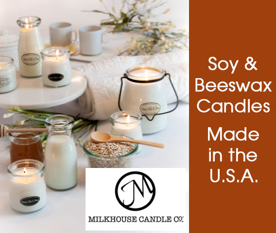 Milkhouse Soy and Beeswax Candles