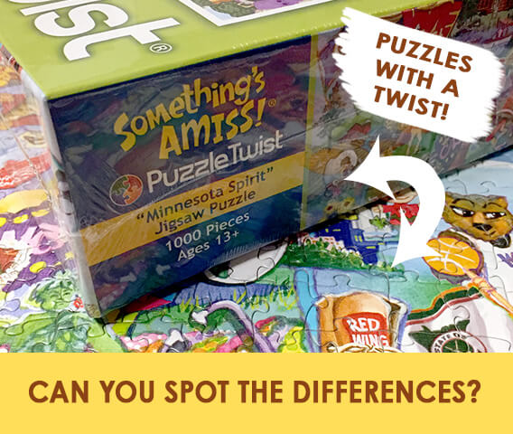 PuzzleTwist Minnesota Puzzles - A great family activity!
