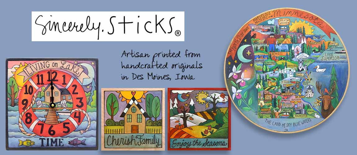 Sincerely Sticks from Des Moines, Iowa
