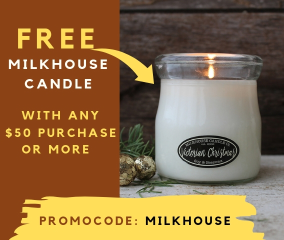 Free Candle for everyone!