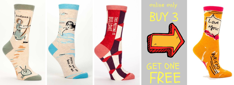 Socks buy three get one promo online