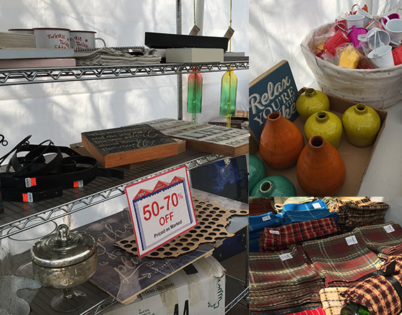 Clearance Tent Sale