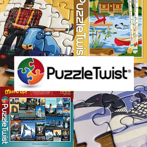 Click here to go to The Woods Gifts, which carries a much wider selection of candles, home goods, foods, bath & body products and gift products such as a line of Puzzle Twist puzzles.